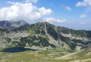 A view from the Pirin Mountain by Dimiter Georgiev_cr